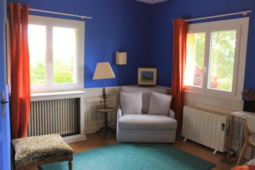 chambre Lavande salon